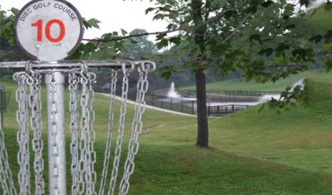 Playing in Disc Golf in Nashville
