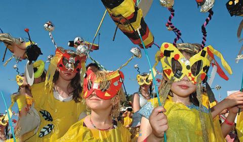 Kids Celebrating at Nashville Festivals