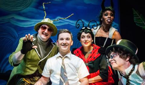 Performacne of James and Giant Peach Photo by Colin Peterson