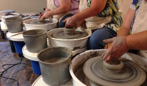 Pottery Classes in Nashville