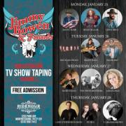 Jimmy Bowen & Friends TV Taping (Free)
