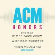 14th Annual ACM Honors™ at the Ryman Auditorium in downtown Nashville Tennessee