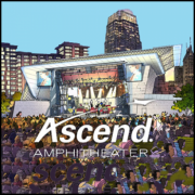 Ascend Amphitheater in Riverfront Park in Nashville Tennessee