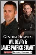 General Hospital's Wil Devry & James Patrick Stuart