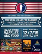 Cigars For Warriors Collection and Donation Drive