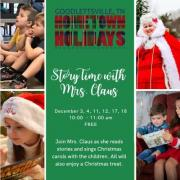 Story Time with Mrs. Claus