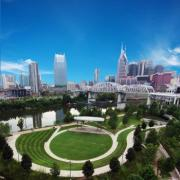 Cumberland Park, Riverfront Downtown Nashville TN