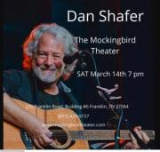 Dan Shafer at the Mockingbird Theater