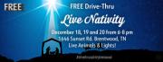 FREE Drive-Thru Live Nativity