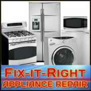 Fix-It-Right Appliance Repair Serving Nashville and Middle Tennessee