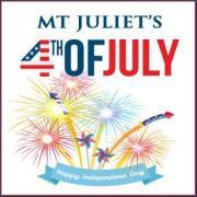 Mt Juliet's Fireworks on 4th of July