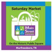 Logo of the Murfreesboro Saturday Market in Mufreesboro Tennessee