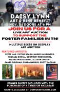 Daisy Lynn Art & Bike Benefit