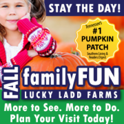 Fall Family Fun at Lucky Ladd Farms near Nashville Tennessee