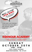 Ridenour Academy Open House - Music, Vocal, Technology & Songwriting Lessons