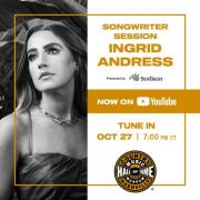 Country Music Hall of Fame and Museum Presents Songwriter Session: Ingrid Andress