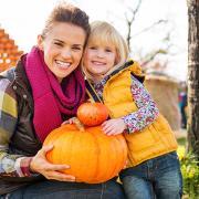 Pick the perfect pumpkin at Lucky Ladd's Pumpkin Patch.