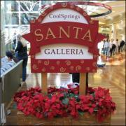 Santa Pictures at CoolSprings