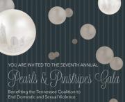 Pearls and Pinstripes Gala