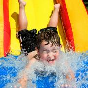 """Kids join us for fun in the sun as we celebrate """"Back to School"""" with a """"Splash Bash."""""""