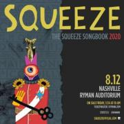 Squeeze at the Ryman Auditorium in downtown Nashville Tennessee