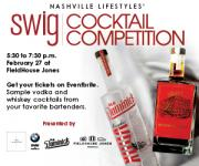 Nashville Lifestyles' SWIG Cocktail Competition