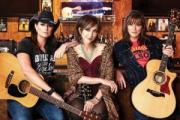 Terri Clark, Pam Tillis, and Suzy Bogguss at the Ryman Auditorium in downtown Nashville Tennessee