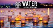 Lanterns on the water.