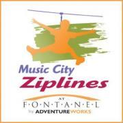 Music City Ziplines in Nashville Tennessee