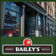 Bailey's Pub & Grille Sports Bar in downtown Nashville Tennessee