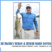 Ed Martin's Striper & Hybreid Fishing Guide Service