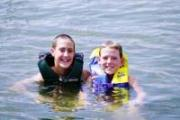 Swimming in Old Hickory Lake