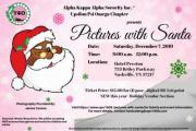 PICTURES WITH SANTA PRESENTED BY ALPHA KAPPA ALPHA SORORITY INC. UPSILON PSI OMEGA CHAPTER