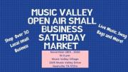 Music Valley Small Business Saturday Open Air Market