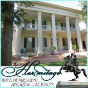 The Hermitage home of President Andrew Jackson