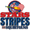 Honoring Independence Day and Fourth of July Stars, Stripes and Squirt Guns